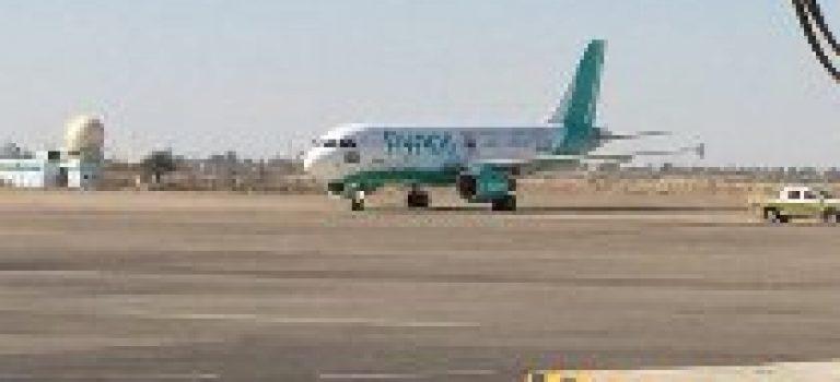 اولین هواپیمای عربستان پس از ۲۷ سال در فرودگاه بغداد بر زمین نشست