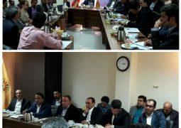جلسه کمیسیون انرژی اتاق مشترک بازرگانی ایران و عراق برگزار شد