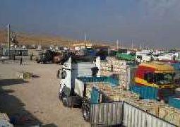 صادرات ۳۲۱میلیون دلاری کالا از مرز سومار