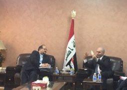 دیدار وزیر صنعت، معدن و تجارت ایران با مقامات عراقی