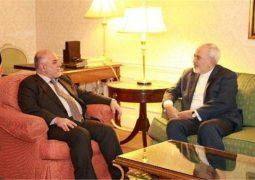 ظریف: از هیچگونه همکاری و مشارکت برای بازسازی عراق دریغ نمیکنیم