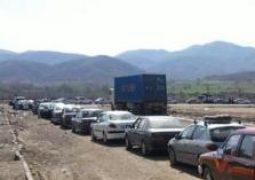 تردد خودرو از مرز باشماق بدون محدودیت انجام می شود