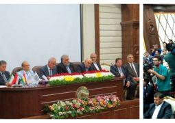 همایش توسعه روابط اقتصادی جمهوری اسلامی ایران و اقلیم کردستان عراق(۱۳۹۷/۰۲/۱۳)