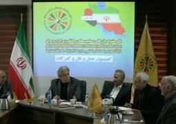 انتخابات دور جدید کمیسیون «حمل و نقل و گمرکات» اتاق مشترک بازرگانی ایران و عراق برگزار شد