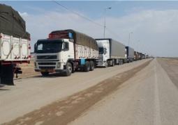 حرکت کامیونهای حامل بار صادراتی به مرز چذابه ممنوع شد