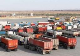 صادرات کالا از مرز مهران بدون مشکل در جریان است