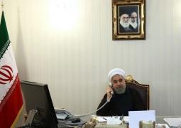 <span>دکتر روحانی در گفت و گو با رئیس جمهور عراق:</span><br/>ثبات، امنیت و استقلال عراق برای ایران از اولویت ویژه ای برخوردار است/ امنیت عراق را امنیت خود می دانیم