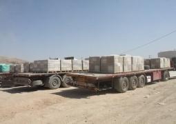 روزانه ۲۹۰ کامیون کالا از شیخصله به عراق صادر میشود