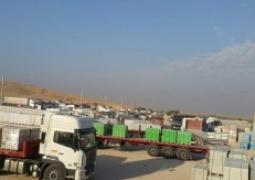 صادرات ۸۰۰ هزار تن کالا از مرزهای کرمانشاه طی ۲ ماه