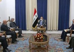 رئیس جمهوری عراق خواهان توسعه همکاری با ایران در حوزه آب و برق شد