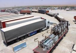 ۱۸۳ میلیون دلار کالا از مرز مهران به عراق صادر شد
