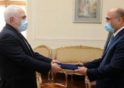 سفیر جدید عراق رونوشت استوار نامه خود را تسلیم دکتر ظریف کرد