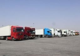 صادرات بیش از ۲۷۰ هزار تن کالا از پایانههای مرزی خوزستان