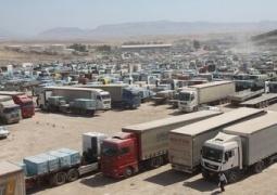 صادرات از مرزهای کرمانشاه افزایش یافت