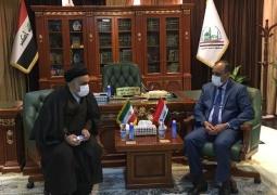 دیدار سرکنسول جدید ایران با استاندار نجف