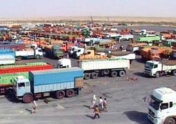 صادرات ۴۶۴ میلیون دلاری از مرز مهران