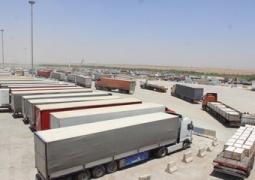 ۴۵ هزار و ۷۴۵ تن کالای استاندارد از مرز مهران به عراق صادر شد