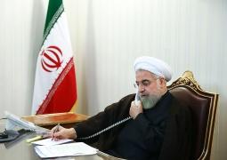 دکتر روحانی در گفت و گو با نخست وزیر عراق: ایران و عراق از مشترکات مستحکمی برخوردارند که دو کشور را به هم پیوند می دهد
