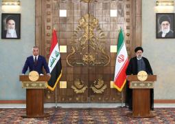 آیت الله رئیسی در نشست خبری مشترک با نخست وزیر عراق: برغم میل دشمنان، روابط ایران و عراق در همه زمینهها توسعه خواهد یافت