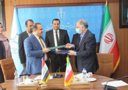 بیانیه مشترک گسترش روابط حقوقی و قضایی ایران و عراق امضا شد